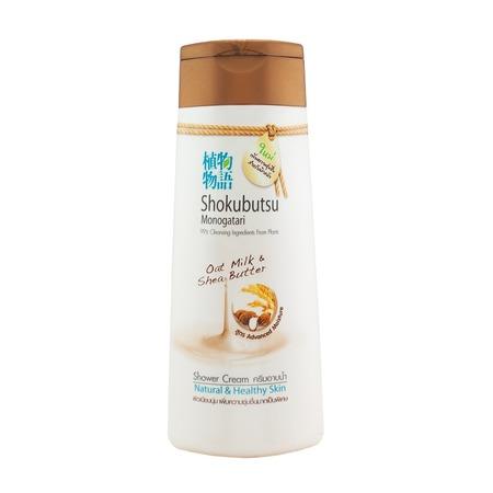 Купить Крем-гель для душа Lion Shokobutsu «Овсяное молочко и масло Ши»