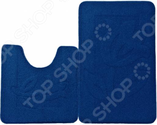 Набор ковриков для ванной комнаты Kamalak textil УКВ-1026