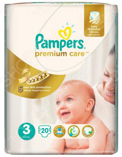 Подгузники Pampers Premium Care 5-9 кг, размер 3, 20 шт.