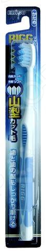 Зубная щетка Ebisu с комбинированным W-образным срезом ворса