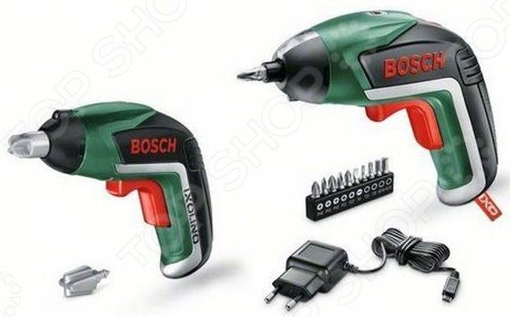 Шуруповерт аккумуляторный Bosch IXO V Family Set шуруповерт bosch ixo v bit set аккум патрон держатель бит 1 4