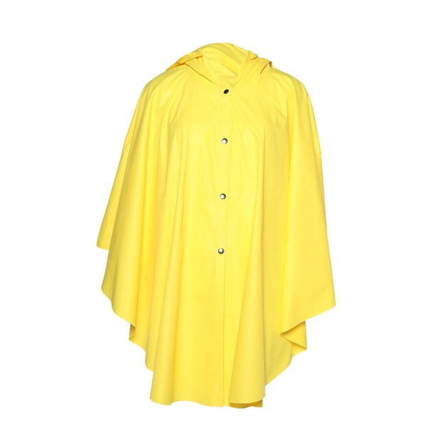 фото Пончо-дождевик Гранд Гром «Мисс универсальность». Цвет: желтый