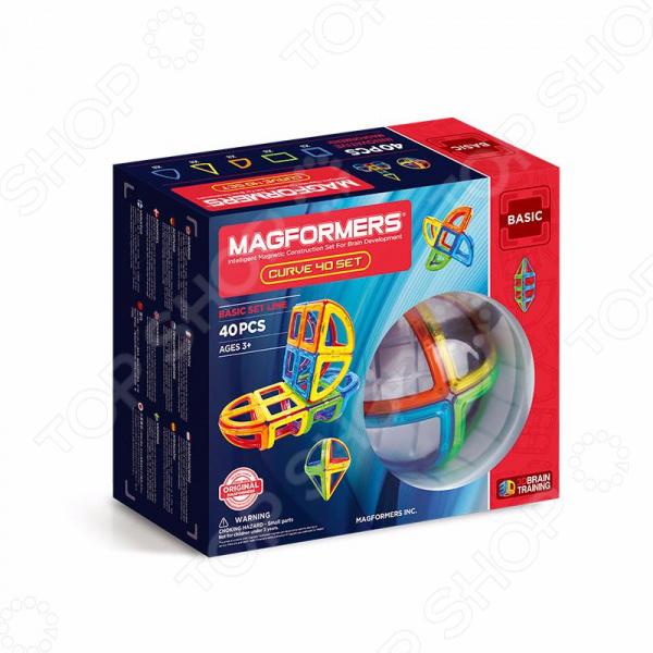 Конструктор магнитный Magformers Curve 40