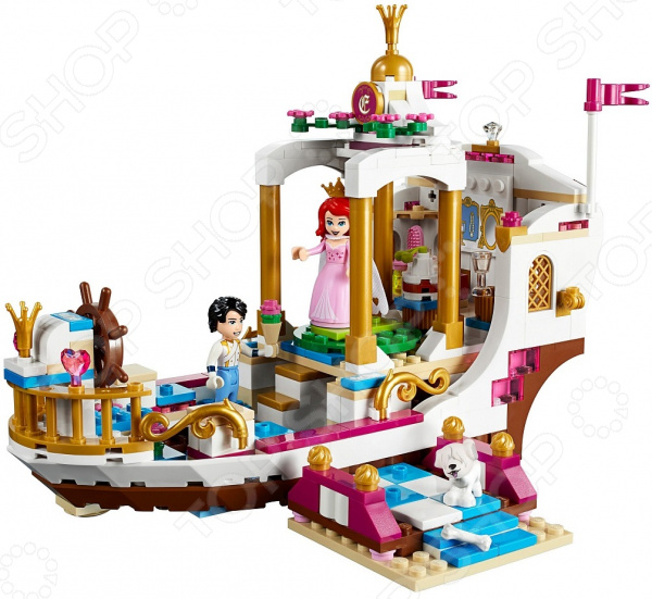 Конструктор игровой LEGO Disney Princess «Королевский корабль Ариэль»