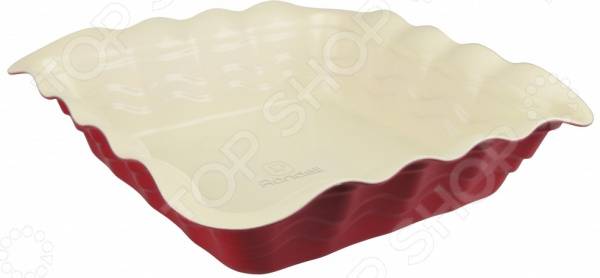 Форма для выпечки Rondell Wavy RDF-436 форма для запекания rondell rdf 437 wavy 39x29cm