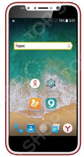 Смартфон ARK Benefit S504 стильный телефон в тонком корпусе, работающий на базе операционной системы Android 5.1. Гаджет станет незаменимым помощником в развлечениях, общении, интернет серфинге и учебе.  Доступный телефон с большими возможностями  Цветной емкостный дисплей размером 5 дюймов обеспечит комфортную работу с приложениями на телефоне.  Воспроизведение аудио и видео файлов, а также встроенное FM-радио.  Основная фотокамера на 2 Мп с функцией автофокусировки и панорамы. Также предусмотрена фронтальная камера на 0,3 Мп для видеозвонков и селфи .  Поддержка работы двух Sim-карт. Удобно в ситуациях, когда вы хотите использовать тарифные планы двух разных операторов.  Надежный пластиковый корпус.  Объем встроенной памяти телефона составляет 4 Гб, из которых пользователю доступно 2 Гб. Однако место для хранения данных может быть увеличено за счет приобретения карты microSD до 32 Гб.