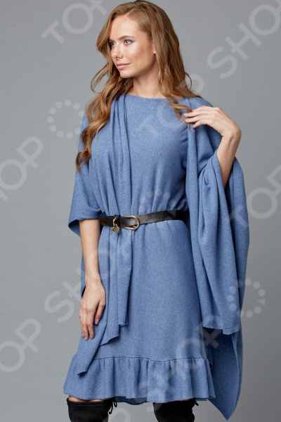 Комплект: платье и палантин Milliner 1736137