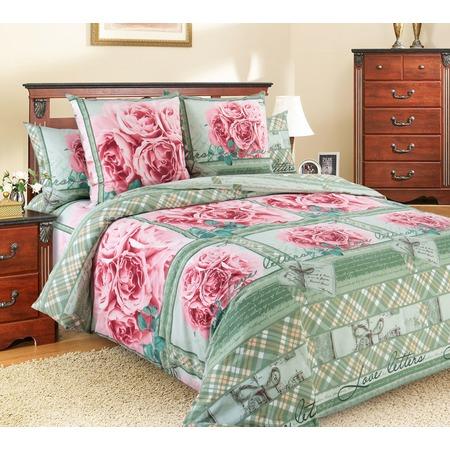 Купить Комплект постельного белья Королевское Искушение «Любовные письма». Евро