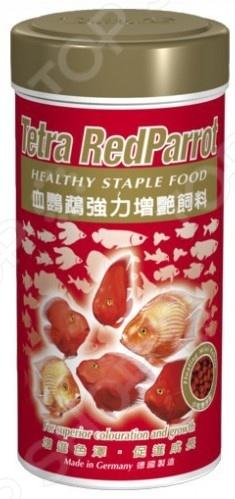 Корм для рыб Tetra RedParrot tetra корм для рыб tetra guppy в хлопьях для гуппи 250мл
