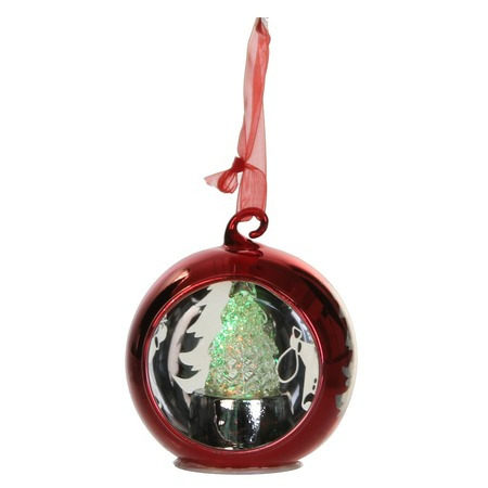 Купить Елочное украшение Christmas House со светодиодами «Шар»