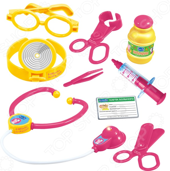 Игровой набор для девочки Peppa Pig «Пеппа доктор»