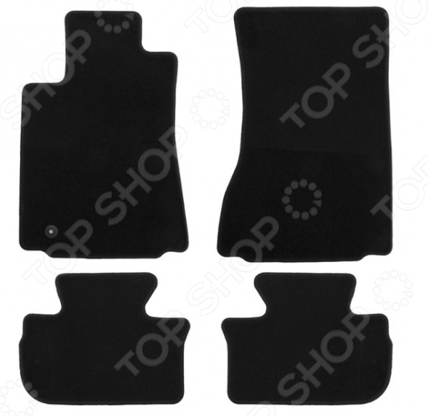 Комплект ковриков в салон автомобиля Klever Econom для Cadillac CTS седан, 2007-2014 wiper blades for cadillac cts first generation 22