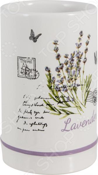 Стакан для ванной комнаты Рыжий кот TU-LAV «Лаванда» духи lav parfume духи candied fruit цукаты 30 мл lav parfume 80880