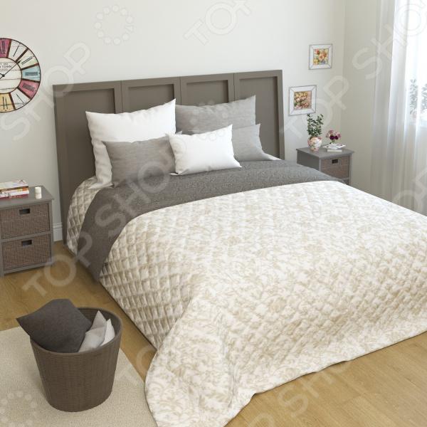 Покрывало стеганое Сирень «Саввир» фабрика прямая кровать mikasa 1 8 м специальный весенний матрас юбка покрывало простыни защиты пакета почты в убыток