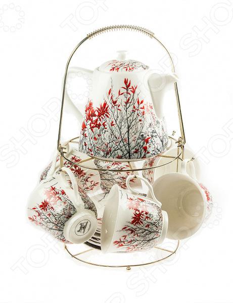Чайный набор на подставке «Барбарис»