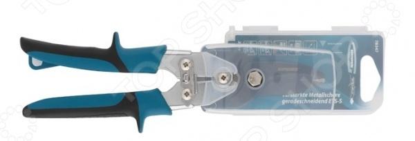 Ножницы по металлу усиленные GROSS Piranha 78347 заклепочник усиленный gross 40409