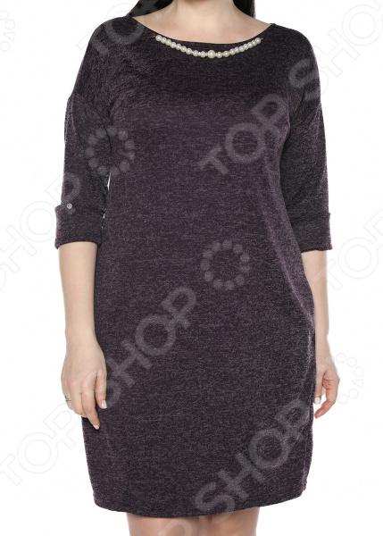 Платье Jenks «Жемчужная романтика». Цвет: баклжановый платья jenks платье