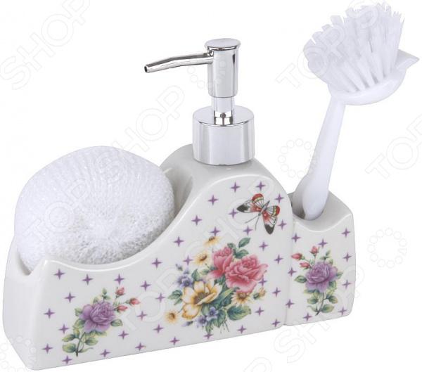 Дозатор для моющего средства Rosenberg RCE-335012 набор для ванной комнаты rosenberg rce 350004 3