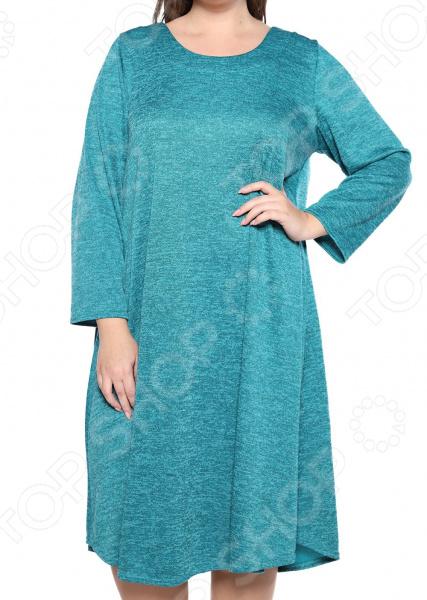 Платье Pretty Woman «Душевный уют». Цвет: бирюзовый