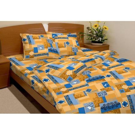 Купить Комплект постельного белья Fiorelly «Вензель». 1,5-спальный