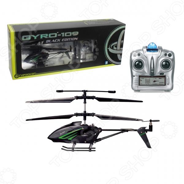 Вертолет на радиоуправлении 1 Toy GYRO-109 Black Edition Вертолет на радиоуправлении 1 Toy GYRO-109 Black Edition /