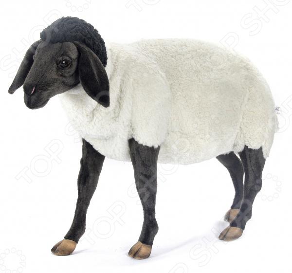 Мягкая игрушка Hansa «Суффолкская овечка» мягкая игрушка hansa бобер