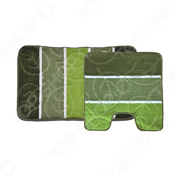 Комплект ковриков для ванной и туалета Dasch «Листопад»