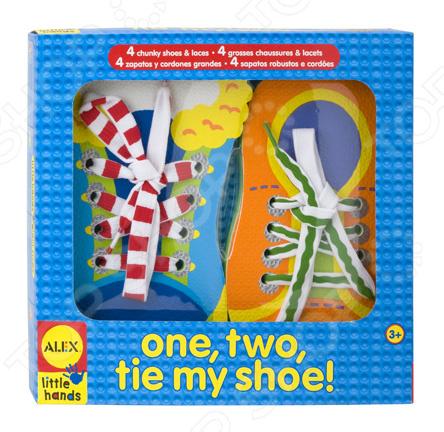 Игра развивающая Alex «Завяжи шнурки»