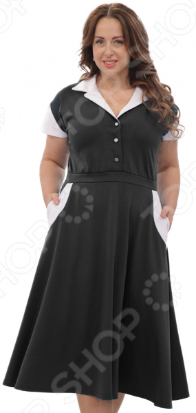 Платье Матекс «Петра». Цвет: черный