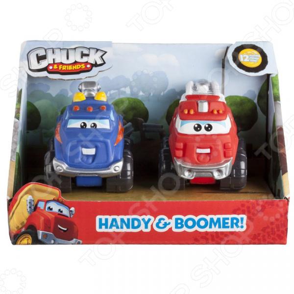 Набор машинок игрушечных Chuck & Friends «Хэнди и Бумер» игрушки для детей