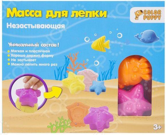 Набор для лепки из массы Color Puppy «Подводный мир» набор для лепки color puppy спелые