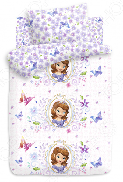 Детский комплект постельного белья Непоседа «Медальон» покрывало детское непоседа непоседа покрывало софия прекрасная медальон сиреневое