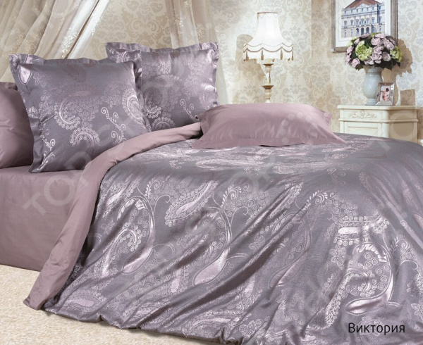 Комплект постельного белья Ecotex «Виктория». Семейный постельное белье ecotex комплект постельного белья герцогиня