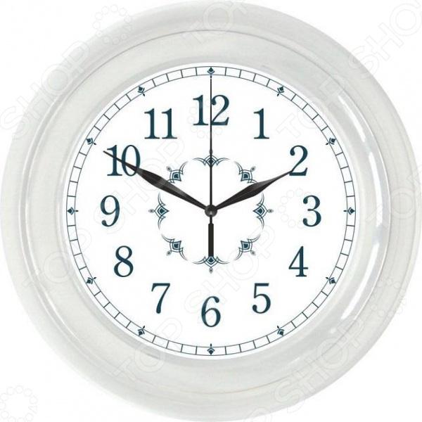 Часы настенные Вега П 6-7-12 «Классика с узором»