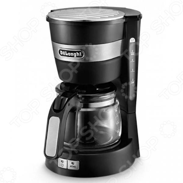 Кофеварка DeLonghi ICM 14011 кофеварка delonghi en 500 коричневый