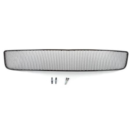 Купить Комплект внешних сеток на бампер Arbori Soty для Infiniti QX60, 2014. Цвет: черный