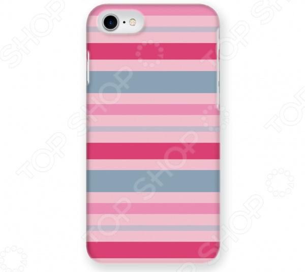 Чехол для iPhone 7 Mitya Veselkov «Полосатый принт» mitya veselkov тюльпановый принт чехол для apple iphone 5 5s