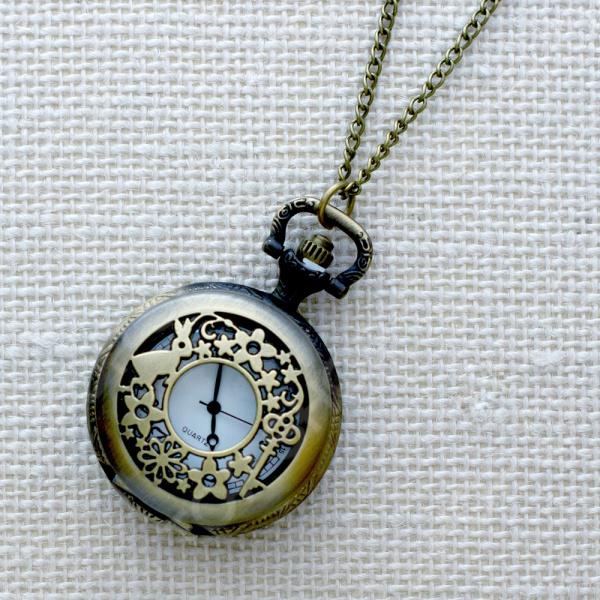Кулон-часы Mitya Veselkov «Кролик и ключик»