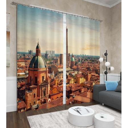 Купить Фотошторы Сирень «Панорама Болоньи»