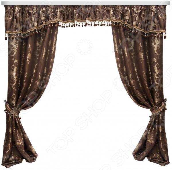 Комплект штор Zlata Korunka 777073 текстиль для дома