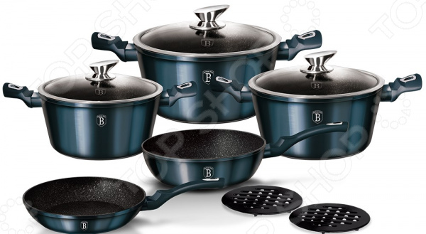 Набор посуды Berlinger Haus Metallic