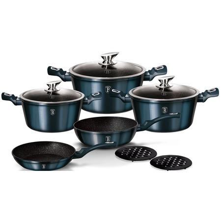 Купить Набор посуды Berlinger Haus Metallic