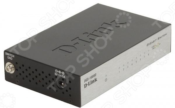 Коммутатор D-Link DGS-1008D коммутатор d link dgs 1008d i2a i2b