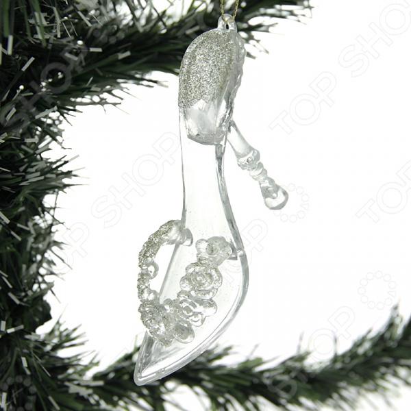 Елочное украшение Crystal Deco «Туфелька»