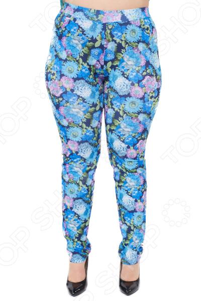 Фото - Брюки Лауме-Лайн «Сенсация». Цвет: голубой брюки лауме лайн обворожительность цвет красный