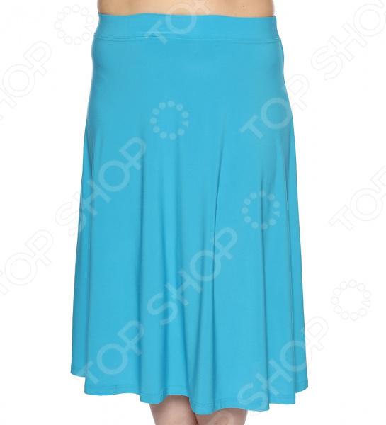 Юбка VEAS «Элегантная». Цвет: голубой