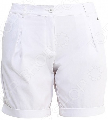 Шорты Finn Flare S16-14036. Цвет: белый