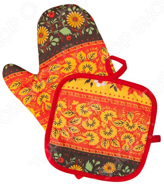 Набор: прихватка с рукавицей BONITA «»
