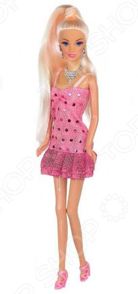 Кукла с аксессуарами Toys Lab «Блондинка в розовом: Розовый стиль»