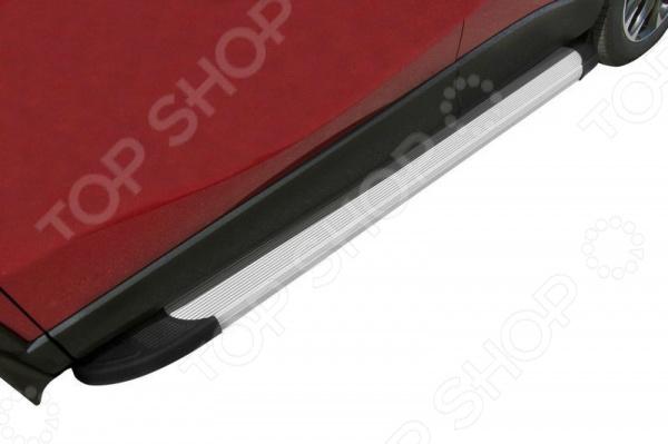 Комплект защиты штатных порогов Arbori Optima 1700 для Mazda CX-5, 2011 комплект защиты штатных порогов arbori optima 1700 для mitsubishi asx 2014